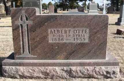 OTTE, ALBERT - Holt County, Nebraska | ALBERT OTTE - Nebraska Gravestone Photos