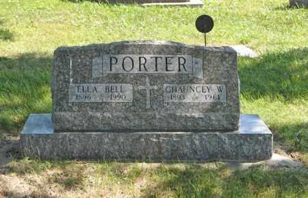 PORTER, ELLA BELL - Holt County, Nebraska | ELLA BELL PORTER - Nebraska Gravestone Photos