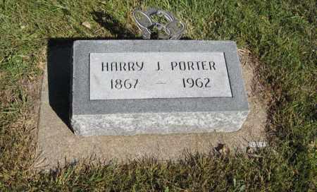 PORTER, HARRY J. - Holt County, Nebraska | HARRY J. PORTER - Nebraska Gravestone Photos