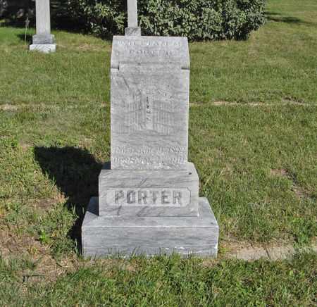 PORTER, WILLIAM M. - Holt County, Nebraska | WILLIAM M. PORTER - Nebraska Gravestone Photos