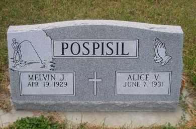 POSPISIL, ALICE V. - Holt County, Nebraska | ALICE V. POSPISIL - Nebraska Gravestone Photos
