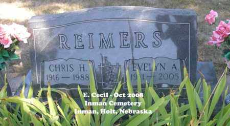 REIMERS, EVELYN A. - Holt County, Nebraska | EVELYN A. REIMERS - Nebraska Gravestone Photos