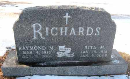 RICHARDS, RITA M - Holt County, Nebraska | RITA M RICHARDS - Nebraska Gravestone Photos