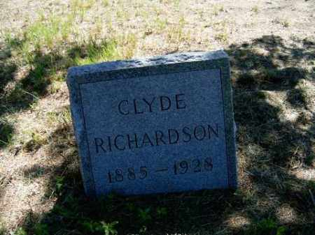 RICHARDSON, CLYDE - Holt County, Nebraska   CLYDE RICHARDSON - Nebraska Gravestone Photos
