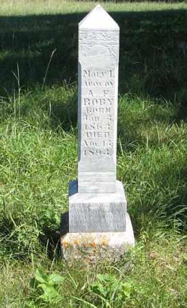 ROBY, MARY I. - Holt County, Nebraska | MARY I. ROBY - Nebraska Gravestone Photos