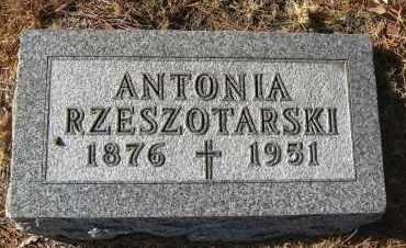 RZESZOTARSKI, ANTONIA - Holt County, Nebraska   ANTONIA RZESZOTARSKI - Nebraska Gravestone Photos