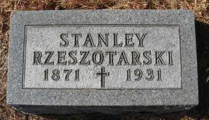 RZESZOTARSKI, STANLEY - Holt County, Nebraska | STANLEY RZESZOTARSKI - Nebraska Gravestone Photos