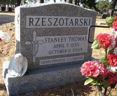 RZESZOTARSKI, STANLEY THOMAS - Holt County, Nebraska   STANLEY THOMAS RZESZOTARSKI - Nebraska Gravestone Photos