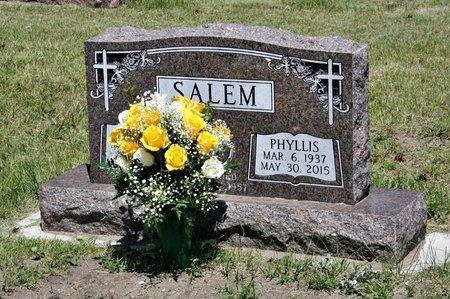 HARLESS SALEM, PHYLLIS - Holt County, Nebraska | PHYLLIS HARLESS SALEM - Nebraska Gravestone Photos