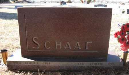 SCHAAF, KATHRYN - Holt County, Nebraska | KATHRYN SCHAAF - Nebraska Gravestone Photos