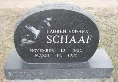 SCHAAF, LAUREN EDWARD - Holt County, Nebraska | LAUREN EDWARD SCHAAF - Nebraska Gravestone Photos