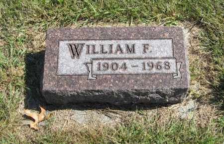 SERCK, WILLIAM F. - Holt County, Nebraska | WILLIAM F. SERCK - Nebraska Gravestone Photos
