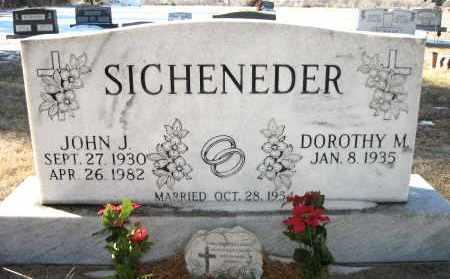 SICHENEDER, JOHN J - Holt County, Nebraska | JOHN J SICHENEDER - Nebraska Gravestone Photos