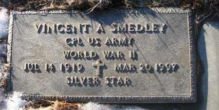 SMEDLEY, VINCENT A - Holt County, Nebraska | VINCENT A SMEDLEY - Nebraska Gravestone Photos
