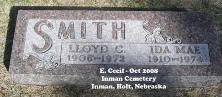 SMITH, LLOYD C. - Holt County, Nebraska   LLOYD C. SMITH - Nebraska Gravestone Photos
