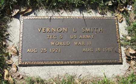 SMITH, VERNON L. (MILITARY MARKER) - Holt County, Nebraska | VERNON L. (MILITARY MARKER) SMITH - Nebraska Gravestone Photos