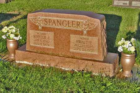 SPANGLER, AWALT F. - Holt County, Nebraska | AWALT F. SPANGLER - Nebraska Gravestone Photos