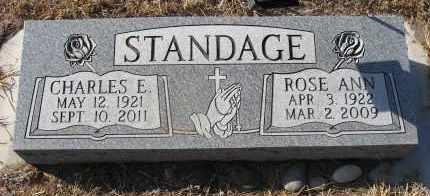 STANDAGE, ROSE ANN - Holt County, Nebraska | ROSE ANN STANDAGE - Nebraska Gravestone Photos