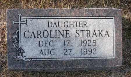 STRAKA, CAROLINE - Holt County, Nebraska   CAROLINE STRAKA - Nebraska Gravestone Photos