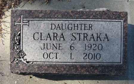 STRAKA, CLARA - Holt County, Nebraska   CLARA STRAKA - Nebraska Gravestone Photos