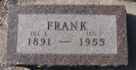 STRAKA, FRANK - Holt County, Nebraska   FRANK STRAKA - Nebraska Gravestone Photos