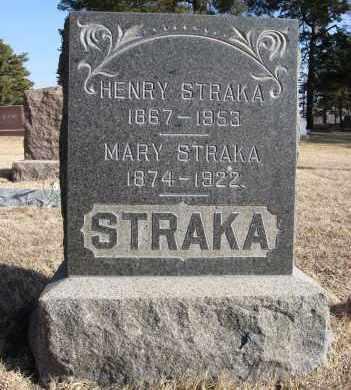 STRAKA, HENRY - Holt County, Nebraska | HENRY STRAKA - Nebraska Gravestone Photos