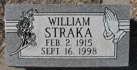STRAKA, WILLIAM - Holt County, Nebraska | WILLIAM STRAKA - Nebraska Gravestone Photos