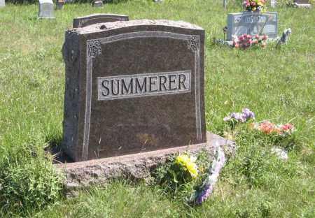SUMMERER, FAMILY - Holt County, Nebraska | FAMILY SUMMERER - Nebraska Gravestone Photos