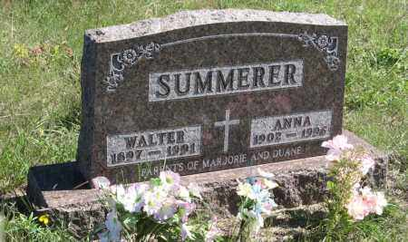 SUMMERER, ANNA - Holt County, Nebraska | ANNA SUMMERER - Nebraska Gravestone Photos