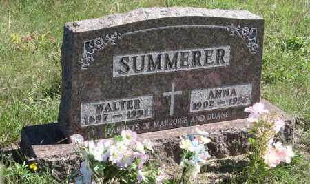 SUMMERER, WALTER - Holt County, Nebraska | WALTER SUMMERER - Nebraska Gravestone Photos