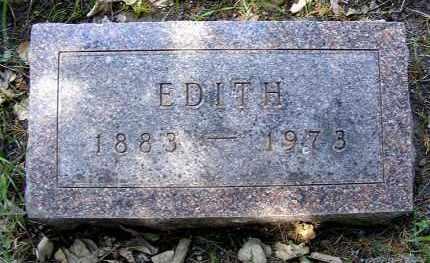 SYFIE, EDITH - Holt County, Nebraska | EDITH SYFIE - Nebraska Gravestone Photos