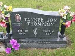 THOMPSON, TANNER - Holt County, Nebraska | TANNER THOMPSON - Nebraska Gravestone Photos