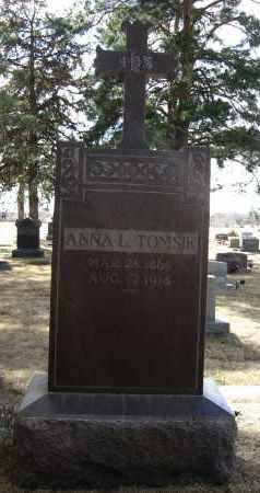 TOMSIK, ANNA L - Holt County, Nebraska   ANNA L TOMSIK - Nebraska Gravestone Photos