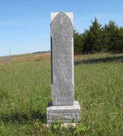 TRUSSELL, WILLIE A. - Holt County, Nebraska | WILLIE A. TRUSSELL - Nebraska Gravestone Photos