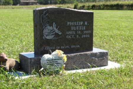 TUTTLE, PHILLIP R. - Holt County, Nebraska | PHILLIP R. TUTTLE - Nebraska Gravestone Photos