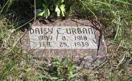 URBAN, DAISY C. - Holt County, Nebraska   DAISY C. URBAN - Nebraska Gravestone Photos