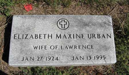 URBAN, ELIZABETH MAXINE - Holt County, Nebraska | ELIZABETH MAXINE URBAN - Nebraska Gravestone Photos