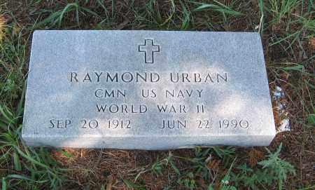 URBAN, RAYMOND - Holt County, Nebraska | RAYMOND URBAN - Nebraska Gravestone Photos