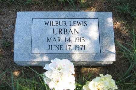 URBAN, WILBUR LEWIS - Holt County, Nebraska | WILBUR LEWIS URBAN - Nebraska Gravestone Photos