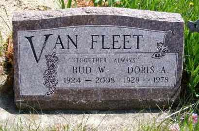 VAN FLEET, BUD W. - Holt County, Nebraska | BUD W. VAN FLEET - Nebraska Gravestone Photos