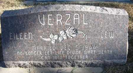 VERZAL, EILEEN - Holt County, Nebraska   EILEEN VERZAL - Nebraska Gravestone Photos