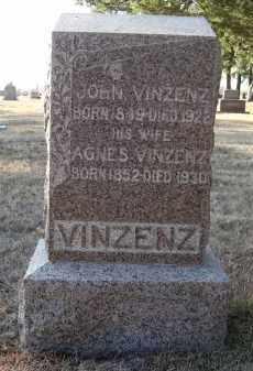 VINZENZ, AGNES - Holt County, Nebraska   AGNES VINZENZ - Nebraska Gravestone Photos