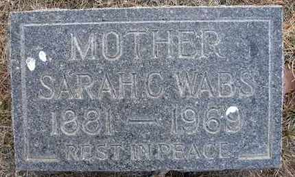 WABS, SARAH C - Holt County, Nebraska | SARAH C WABS - Nebraska Gravestone Photos