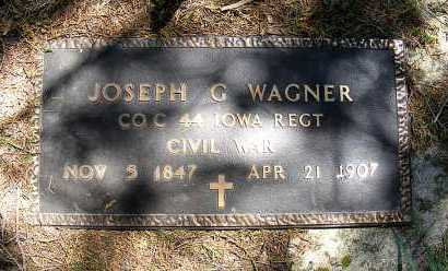 WAGNER, JOSEPH G. - Holt County, Nebraska | JOSEPH G. WAGNER - Nebraska Gravestone Photos