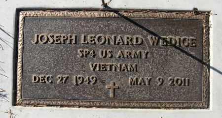 WEDIGE, JOSEPH LEONARD - Holt County, Nebraska | JOSEPH LEONARD WEDIGE - Nebraska Gravestone Photos