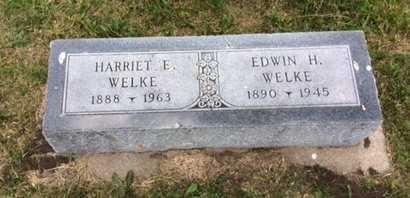 SWAIN WELKE, HARRIET E - Holt County, Nebraska | HARRIET E SWAIN WELKE - Nebraska Gravestone Photos