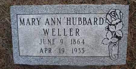 WELLER, MARY ANN - Holt County, Nebraska | MARY ANN WELLER - Nebraska Gravestone Photos