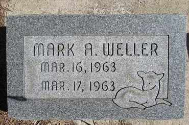 WELLER, MARK A - Holt County, Nebraska | MARK A WELLER - Nebraska Gravestone Photos