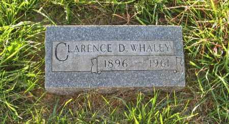 WHALEY, CLARENCE D. - Holt County, Nebraska   CLARENCE D. WHALEY - Nebraska Gravestone Photos
