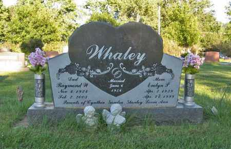 WHALEY, RAYMOND W. - Holt County, Nebraska | RAYMOND W. WHALEY - Nebraska Gravestone Photos